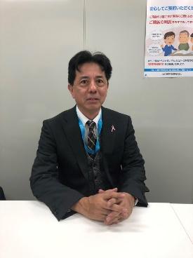 営業部長 嶋田 知史